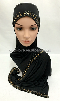 2016 new slip on hijab fashion scarf shawl muslim hijabs,can choose colors ML0138