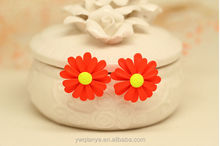 New Fashion Korean Jewelry Earrings Little Daisy Stud Earrings China Wholesale