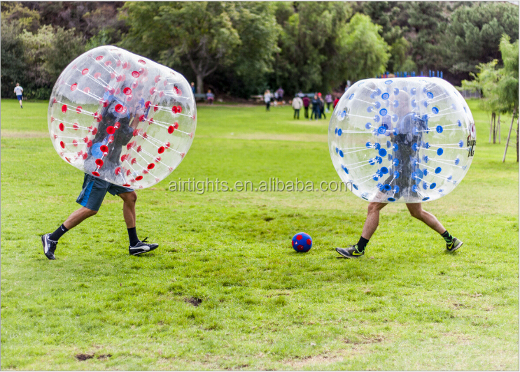 fantastic design bubble ball, human sized inflatable bumper zorbs