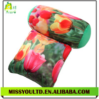 Different Shapes Stuffed Colorful Flower Foam Particle Cotton Throw Pillow Wholesale