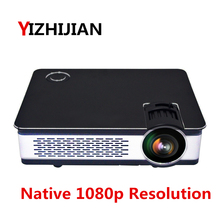 [Hot-selling] 2018 New Native 1080p full hd smart digital home theater movie TV film projector