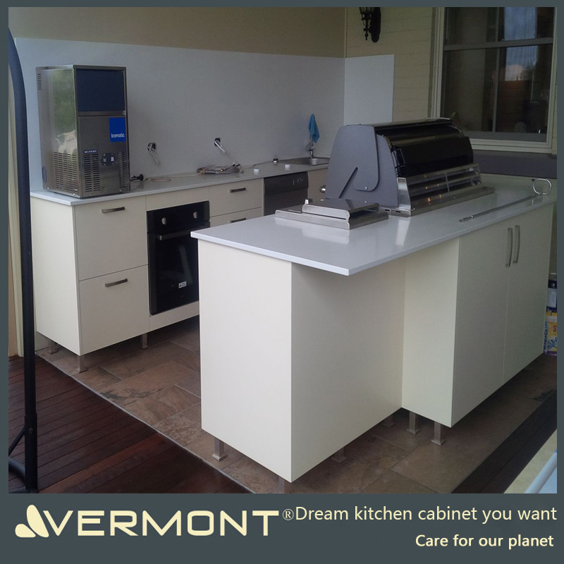 2017 Vermont Customized Outdoor Barbecue Kitchen Australia Furniture Stainless Steel Outdoor Kitchen Cabinets