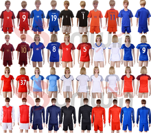2017 soccer uniforms free shipping football shirts for kids and men