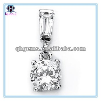 Hot-sale European Machine Cut Gemstones necklace