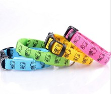 2014 Top Quality Custom pet product eco-Friendly Dog Collar