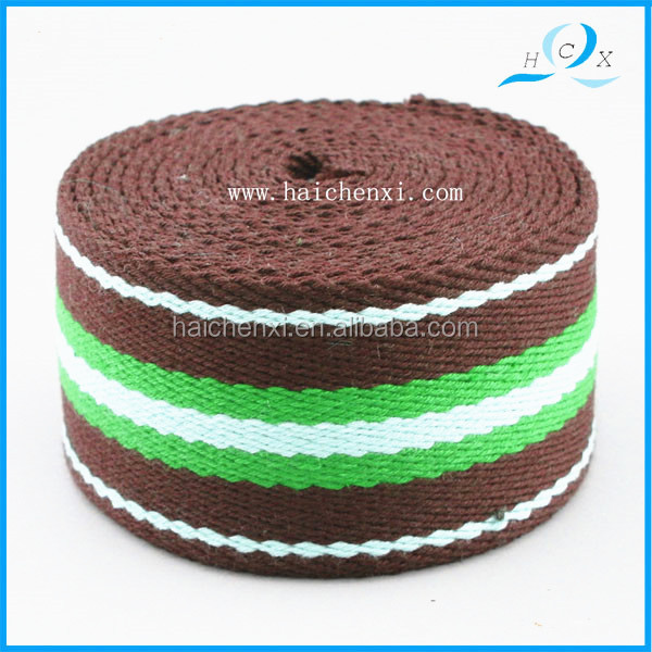 polyester and cotton brown color band for cap