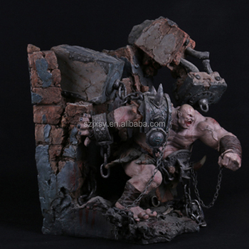 Game& flim character World of Warcraft Orc model