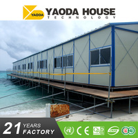 Most popular flat pack low cost prefab container house