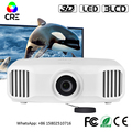 CRE X8000 Full HD 4K LED Home Theatre Projector LED Projector Multimedia native 1080P WI-FI Projector