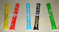 inflatable cheering clapper, thunder stick, bangbang stick