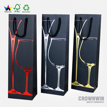 Crown Win Package Wine Paper Gift Bag Printing