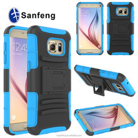 Factory Manufacturer Price Combo Covers Cases For Samsung Galaxy S7 Swivel Belt Clip Cases For Galaxy S7