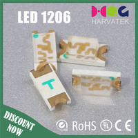 Surface mount smd diode 1206/0603/0805/3528 smd led specifications
