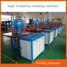 Double heads pvc film high frequency welding/bonding and soldering machine