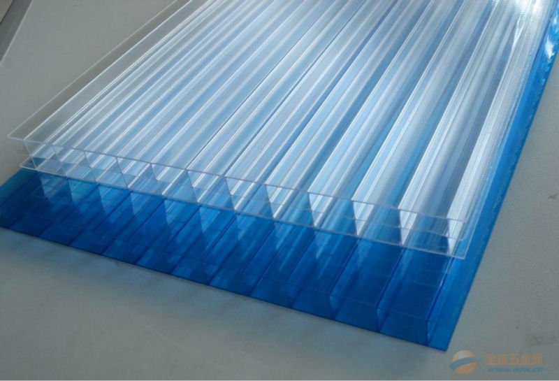 hollow polycarbonate roofing sheet sun pack sheet
