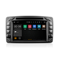 Android 2017 car dvd player gps navigation audio radio stereo for C-class B enz W203 q5 quad core 16g