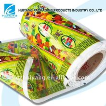 BOPP heat seal plastic popsicle packaging plasitc film selling in Italy