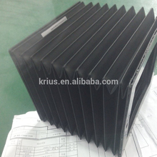 Good Quality Guide Way Square Accordion Telescopic Guard Bellows Cover