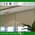 Construction Customized Ready Made Indoor motorized ready made roller blinds /Electric blockout roller blinds