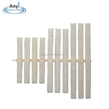 good quality durable ABS plastic swimming pool overflow grating gutter grating