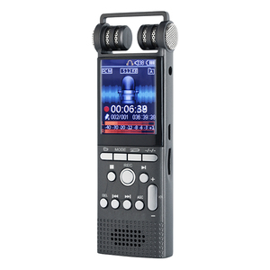 Professional 8GB 1536kbps Multi-function USB LCD Digital Voice Recorder support MP3 Player Dictaphone