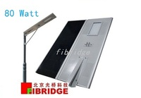 80W Integrated All in One Solar LED Street Light