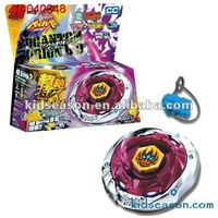 METAL SPINNING TOP LAUNCHER TOY SET KS040648