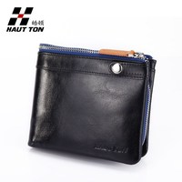 Brand name genuine soft leather money wallet credit card holder