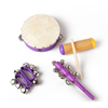 Percussion Instruments Set Baby Toys Tambourine