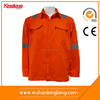 Custom Logo Safety Fluorescent Work Jackets with Reflective Tape