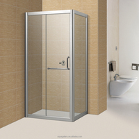 Corner Bath Cabin Aluminium Frame Shower Room
