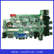 15.6-23.6 Inch LCD TV Board Can Reappear Real World Image Color And Sound