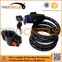 Retractable Cable Bike Lock for Bike Safety production
