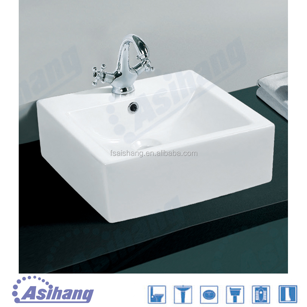 wholesale wash basin sizes in inches for art ceramic sink