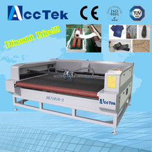 2016 most popular cnc laser cutting machine garment making for T-shirt,pants,dress price