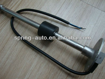 High quality 250mm 0-190ohm S5 fuel and water tank level sensor for truck