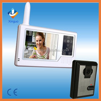 3.5 inch wireless Video Door Phone/ building talk-back/IP intercom