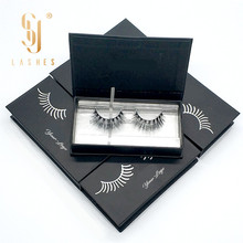 fluffy and premium lashes package eyelashes paper round boxes