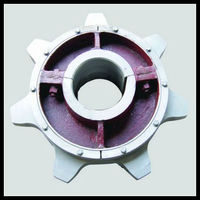 sprocket wheel for Chain grate machine used