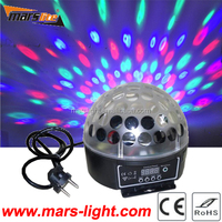 Guangzhou led digital crystal Magic Ball Disco Lighting