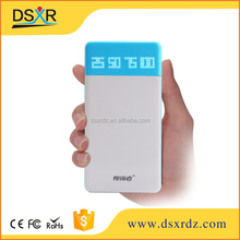 Elegancy 8000mah Power Bank,Digital Battery Portable Power Charge,Double USB Power Bank For Mobile Accessories