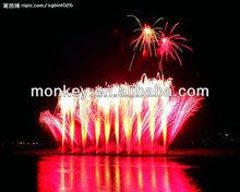 celebration display shell professional fireworks projector show