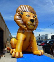 20ft giant outdoor inflatable lion character for advertising