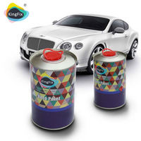 Hot Best Sale good appearance acrylic paint for cars with high-performance hardener