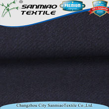 Stretch indigo yarn dyed twill knitted denim fabric for jeans WHCP-201