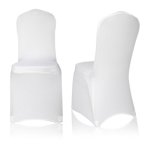YT00313 Wedding cheap spandex $1 black banquet chair covers