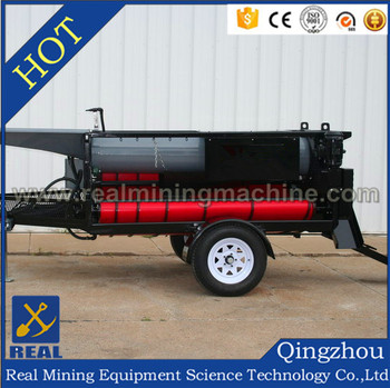 High Capacity alluvial mining wash plant