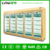 large capacity five glass door upright supermarket showcase