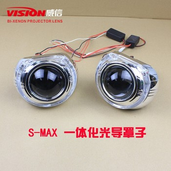 Super Brightness Light Guide Led Angel Eyes Hid Bi Xenon Projector Lens Light Q5 Projector Lens Led Headlight