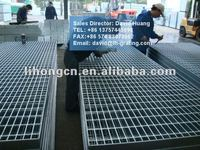galvanized steel grating standard size